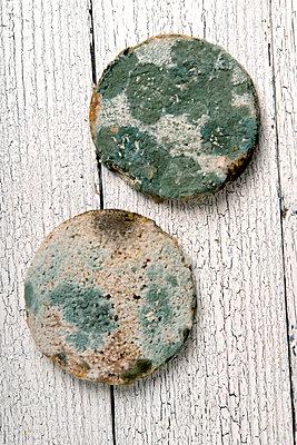 Verschimmeltes Brot - p451m1087549 von Anja Weber-Decker