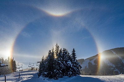 Rainbow at Whistler - p1408m1465082 by Guy Nesher