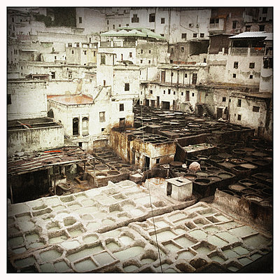 Gerberviertel, Marokko - p1065m886266 von KNSY Bande