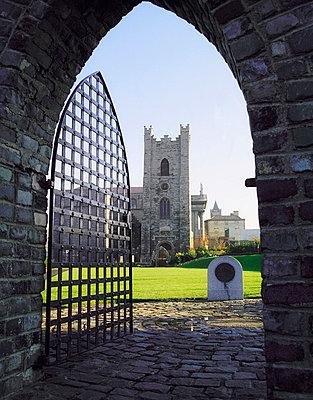 St Audeon's Church, Dublin, Ireland - p4428849 by The Irish Image Collection