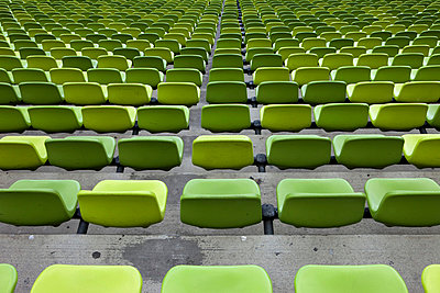 Green seats - p6370276 by Florian Stern