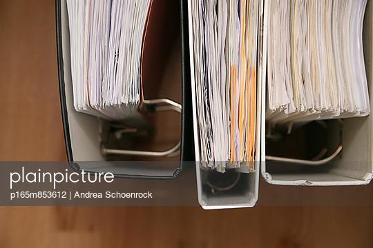 Aktenordner - p165m853612 von Andrea Schoenrock