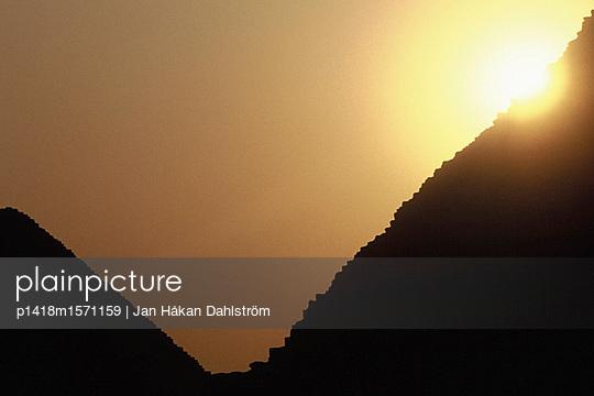 Pyramiden von Gizeh - p1418m1571159 von Jan Håkan Dahlström