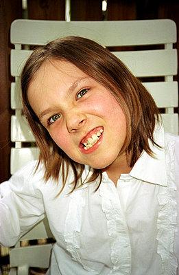 Zähne fletschen - p1130122 von Lioba Schneider