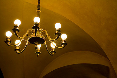 Chandelier - p1036m763168 by Anna-Lisa Mauriello