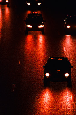 Traffic at night - p1418m1571739 by Jan Håkan Dahlström