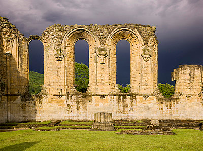 Byland Abbey. View of the east elevation. - p8551715 by James O. Davies