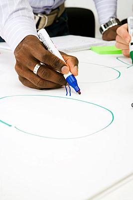 Brainstorming in an office Sweden. - p31218299f by Plattform