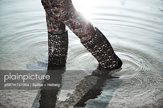 Rubber boots - p587m741064 by Spitta + Hellwig