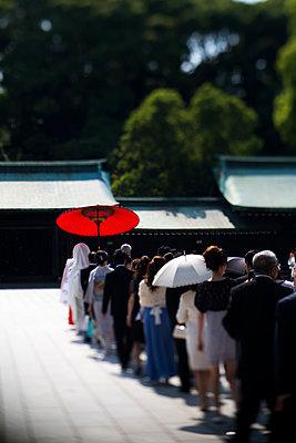 Japanische Hochzeit - p445m911830 von Marie Docher