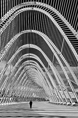 OAKA, Olympic stadium, Athens, Greece - p1445m2157963 by Eugenia Kyriakopoulou