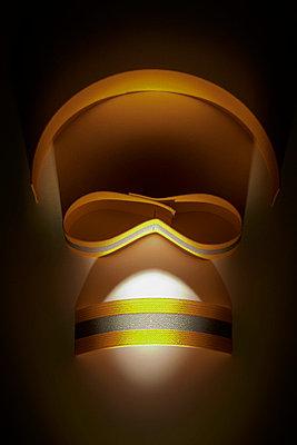 Warning mask - p6760208 by Rupert Warren