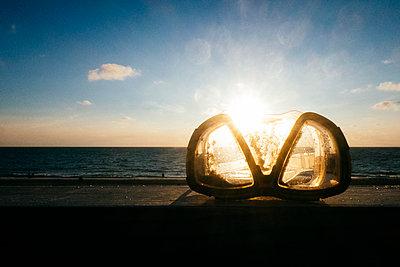 Taucherbrille - p1345m2065693 von Alexandra Kern