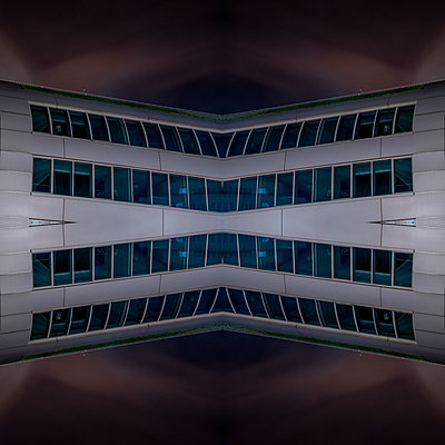 Abstract Architecture Kaleidoscope Bonn - p401m2219853 by Frank Baquet