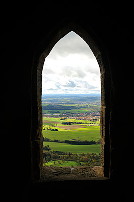View from Hohenzollern Castle - p470m966299 by Ingrid Michel