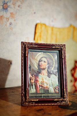 Jesus-Ikone - p1319m1196326 von Christian A. Werner