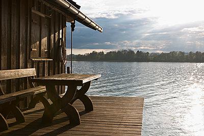 At Lake Chiemsee - p1149m1131700 by Yvonne Röder