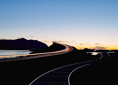 Norway, Atlantic road - p1124m2228938 by Willing-Holtz