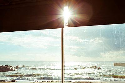 Beach café - p432m951899 by mia takahara