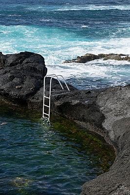 Sea water pool - p451m1072472 by Anja Weber-Decker