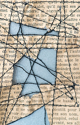 Sewn words - p971m2260219 by Reilika Landen