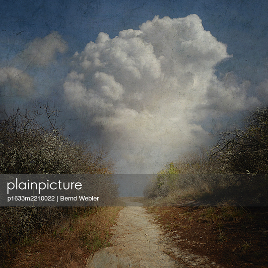 Path & Cloud - p1633m2210022 by Bernd Webler