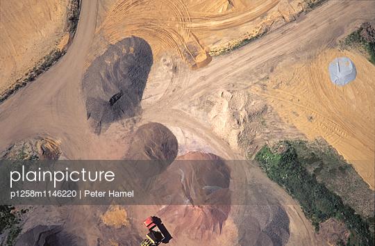 Farbpalette von oben - p1258m1146220 von Peter Hamel