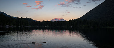 Germany, Bavaria, Berchtesgardener Land, Lake - p1569m2196135 by Moritz Metzger