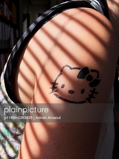 Hello Kitty Tatoo - p1189m2263835 by Adnan Arnaout