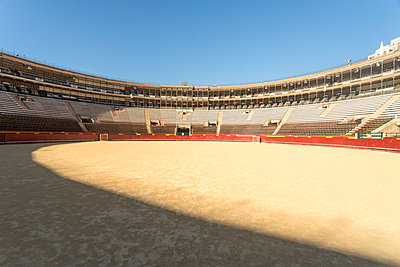 Spain, Valencia, Bull fighting arena  - p1332m2204553 by Tamboly