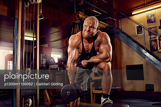 Bodybuilding - p1200m1159352 von Carsten Görling
