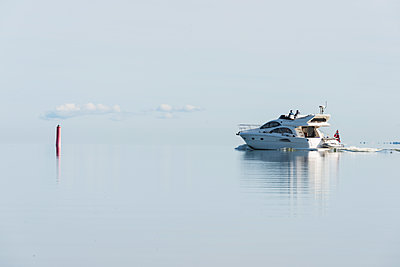 Yacht on sea - p312m1472110 by Mikael Svensson