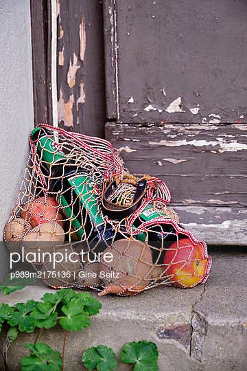 Einkaufsnetz - p989m2175136 von Gine Seitz