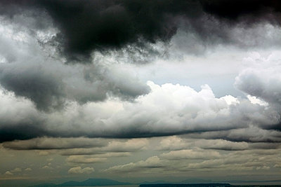 Düstere Wolken - p0170112 von Kathrin Stange