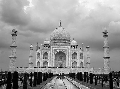 Taj Mahal  - p1445m1586066 by Eugenia Kyriakopoulou