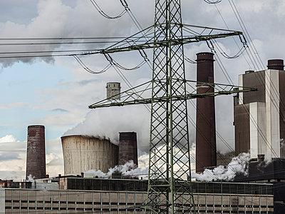 Industriekulisse - p1208m1007472 von Wisckow
