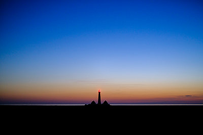 Germany, Schleswig Holstein, Lighthouse Westerhever - p1600m2253167 by Ole Spata