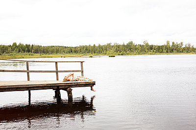 Relaxation at the lake - p294m2031919 by Paolo