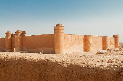 Burgruinen nahe As-Suchna, Syrien - p1493m2063539 von Alexander Mertsch