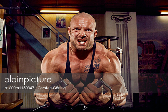 Bodybuilding - p1200m1159347 von Carsten Goerling