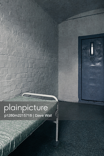 Empty Prison Cell - p1280m2215718 by Dave Wall