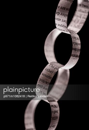Paper chain - p971m1082418 by Reilika Landen