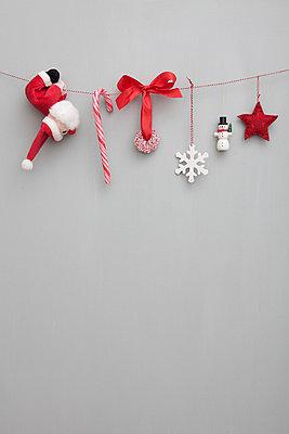 Weihnachtsgirlande - p454m668224 von Lubitz + Dorner