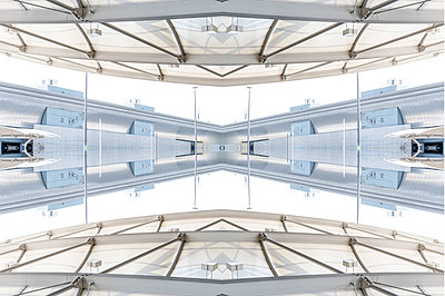 Abstract Kaleidoscope Salzburg Airport - p401m2210946 by Frank Baquet