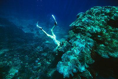 Snorkeling in Indian ocean - p1108m1118841 by trubavin