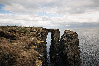 Scottish steep coast - p1477m2038987 by rainandsalt
