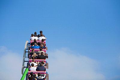Rollercoaster at Oktoberfest, Munich, Germany - p6090510f by MONK photography