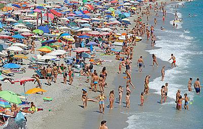 Strandleben in Italien - p1292m1474927 von Niels Schubert