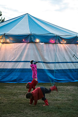 Circus Tent  - p927m1149730 by Florence Delahaye