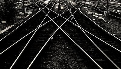 Schienenwirrwarr - p1268m1111508 von Mastahkid